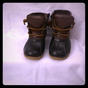 Toddler Girl's Saltwater Duck Boots